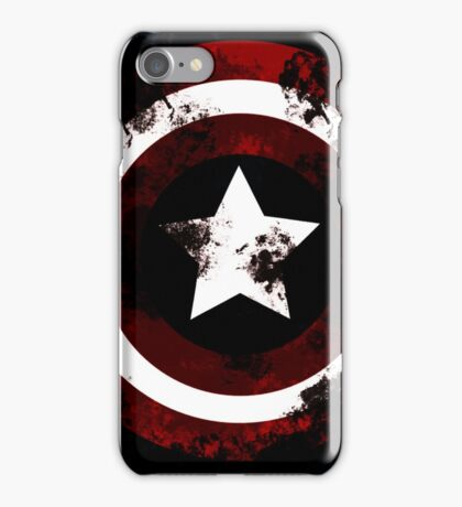 captain shield america iPhone Case/Skin