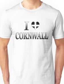 I Love Cornwall T-Shirt