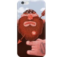 Biker in love iPhone Case/Skin