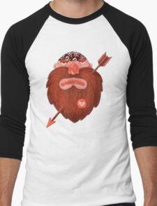 Biker in love Men's Baseball ¾ T-Shirt