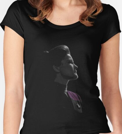 Captain Kathryn Janeway Women's Fitted Scoop T-Shirt