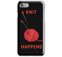 Knit Happens iPhone Case/Skin