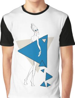 Paper doll with triangles Graphic T-Shirt
