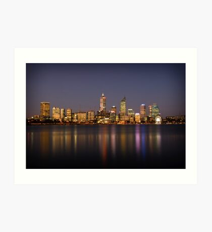 City of Perth Art Print