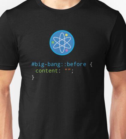 CSS Pun - Big Bang Unisex T-Shirt