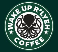 Wake Up R'lyeh Coffee T-Shirt