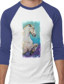 Unicorn Men's Baseball ¾ T-Shirt