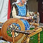 Spinning Wool by cclaude