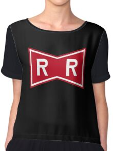 Red Ribbon Army Logo (2017 updated) Chiffon Top