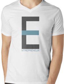 Entrepreneur Business Typography Design Text Mens V-Neck T-Shirt