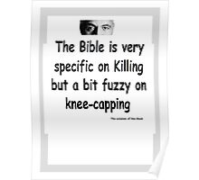 The Rev Book Killing / Knee-capping Poster