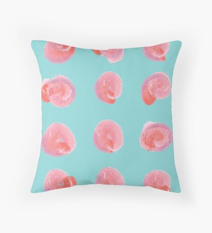 Vintage Blush Throw Pillow