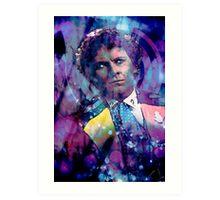 The Sixth Doctor Art Print
