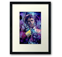 The Sixth Doctor Framed Print