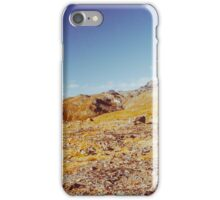 Norwegian National Park Landscape Shot on Film iPhone Case/Skin
