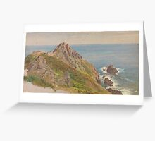 William Trost Richards (American, ) ,La Gaufre, Guernsey, Channel Islands, Greeting Card