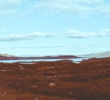 Norwegian National Park Landscape Shot on Film Sticker