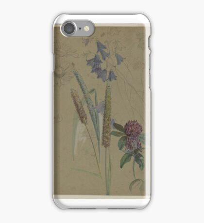 William Trost Richards (American, ). Flower Study, iPhone Case/Skin