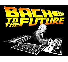Bach To The Future. Photographic Print