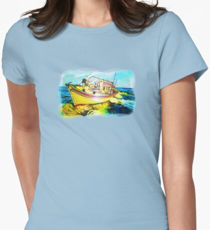 Boat beautiful - Barco Womens Fitted T-Shirt