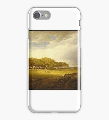 William Trost Richards (American, ). Old Orchard at Newport iPhone Case/Skin