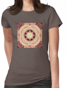 Psychedelic Pattern Womens Fitted T-Shirt