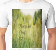 Try Louisa May Alcott Unisex T-Shirt