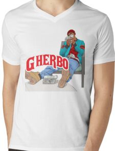 G HERBO YEA I KNOW SHIRT Mens V-Neck T-Shirt