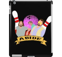 Abide. iPad Case/Skin