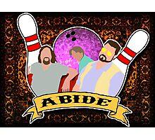 Abide. Photographic Print