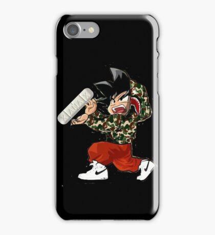 KID GOKU X BAPE MERCHENDISE iPhone Case/Skin