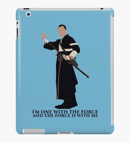 Star Wars - Chirrut Imwe The Force Is With Me iPad Case/Skin