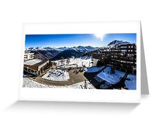 Thyon 2000 Panorama Greeting Card