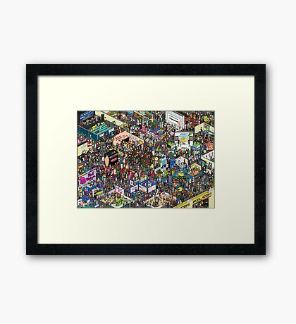 The Picture Of All Framed Print
