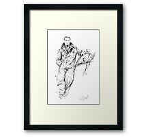 Douglas Bader Framed Print