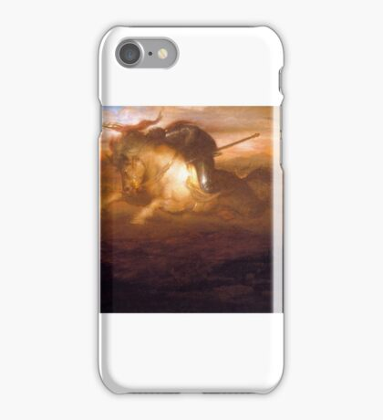 William-Trost-Richards-xx-Victory-xx-Detroit-Institute-of-the-Arts iPhone Case/Skin