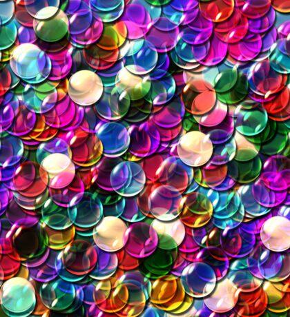 crystal balls mix color transparent Sticker