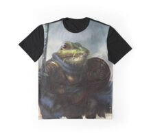 Warrior Pepe Graphic T-Shirt