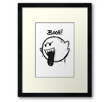 SUPER BOO! by Mien Wayne Framed Print