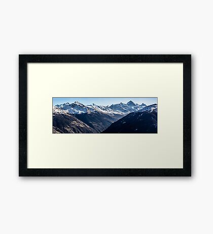 Thyon  Day Panorama 2 Framed Print