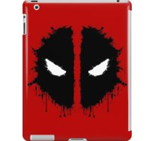 Deadpool Rorschach 2 iPad Case/Skin