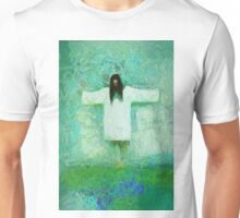 Jesus Christ The Redeemer by Mary Bassett Unisex T-Shirt