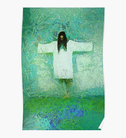 Jesus Christ The Redeemer by Mary Bassett Poster