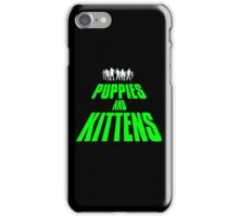 PUPPIES AND KITTENS II iPhone Case/Skin