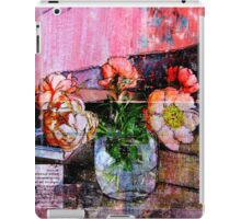 ONLY THE FLOWERS iPad Case/Skin