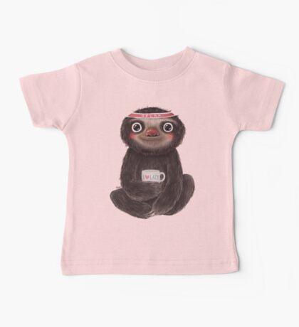Sloth I♥lazy Baby Tee