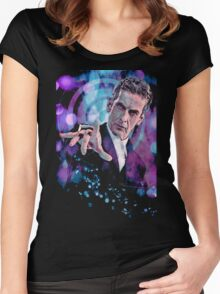 The Twelfth Doctor Women's Fitted Scoop T-Shirt