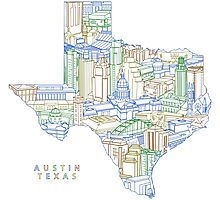 Austin Texas Photographic Print