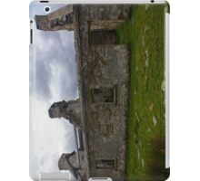 Ruined Cottage at Cashelnagor, County Donegal, Ireland iPad Case/Skin
