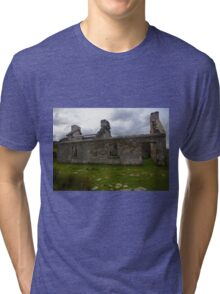 Ruined Cottage at Cashelnagor, County Donegal, Ireland Tri-blend T-Shirt